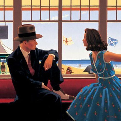 Edith and the Kingpin Jack Vettriano 40x50cm Art Print