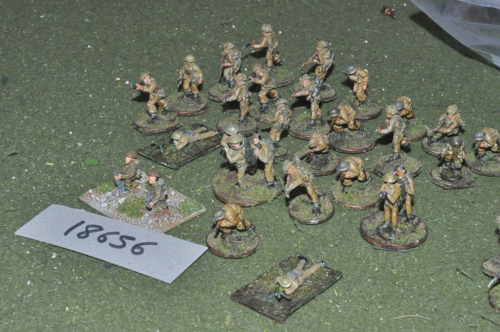20mm WW2   british - infantry burma world war 2 - inf (18656)