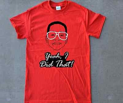 Steve Urkel T-shirt 4 Retro Air Jordan Bred 1 4 11 Fire Red 3 4 5 11s Toro 4s