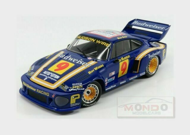 Porsche 935 #9 budweiser 24h Daytona 1979 1:18 norev