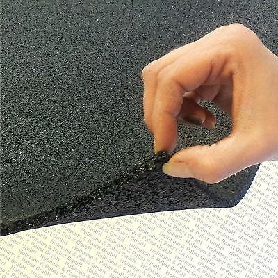 Antivibrations Gummimatte Gummiplatte NBR 6 mm 300 x 400 mm
