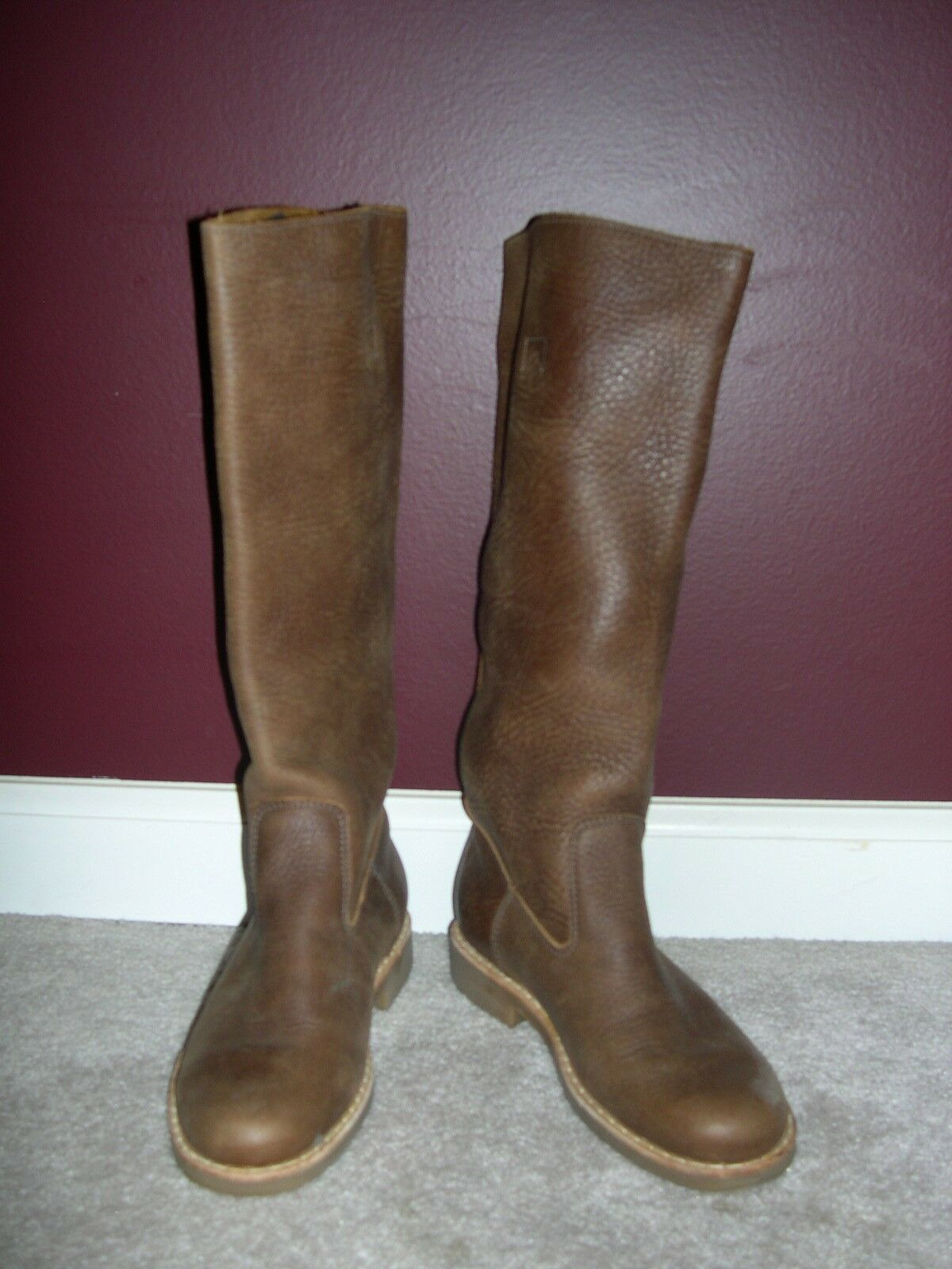 Roots W Russian Vamp Tribe Brown Boots Retail Retail Retail  288 Size 6.5 53514c