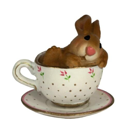 Wee Forest Folk Bunny Cuppa Cottontail B-28