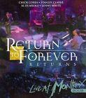 Return to Forever Returns - Live at Montreux 2008 Regions 1 4