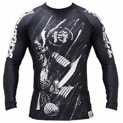 Scramble BJJ SHADOWS RASH GUARD JIU JITSU MMA Gracie UFC RASHGUARD Compression
