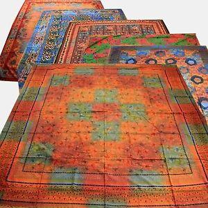 Tagesdecke Wandbehang paisley floral indien inde couvre lit tuch goa deko yoga Beddengoed, bedlinnen