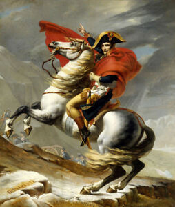 Napoleon-Crossing-The-Alps-by-Jacques-Louis-David-Oil-Painting-Reproduction