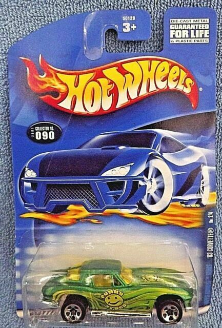 HOT WHEELS 2001 CORVETTE 1963 HIPPIE MOBILES 2//4 50128