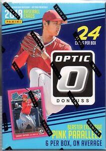 2018-Panini-Donruss-Optic-Baseball-Blaster-Box-Pink-Parallels-FREE-Pack-Ser-2