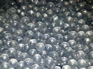 250-Premium-Heavy-Airsoft-BBs-6mm-Clear-Glass-0-28g-Round-Balls-Air-Soft-Pellets