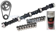 Chevy 350 Hi-Performance 274H Camshaft Lifter Timing Kit Zinc Lifters