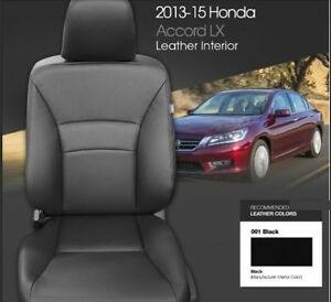 Image Is Loading Honda Accord 2016 2017 Lx Sport Ex Leather