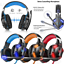 EACH G9000 3.5mm LED Gaming Stereo Headphone LED Headset with Mic for Gamers