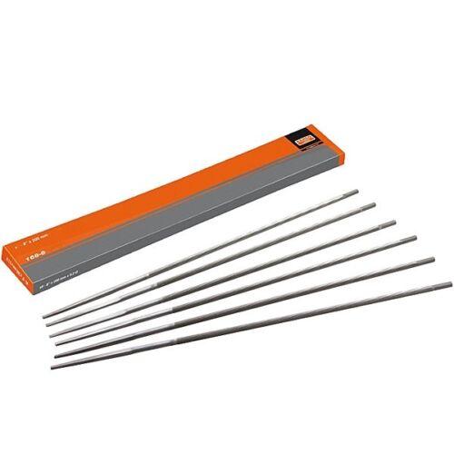6 Stk Kettensägefeile Bahco 4mm 168-8-4.0-6 Sägenkettefeile rund 200mm