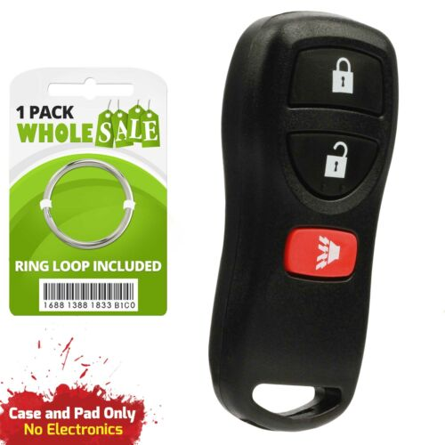 Replacement For 2003 2004 2005 2006 2007 Nissan Murano Key Fob Remote Shell Case