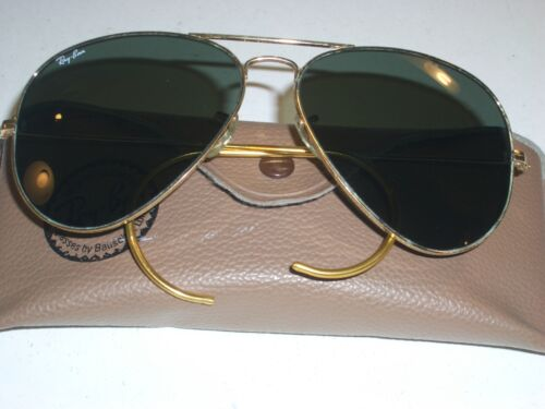 1980's 62mm LARGE LENS VINTAGE B&L RAY BAN CABLE T