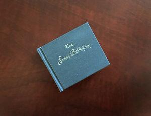 The-Fortsas-Bibliohoax-Walter-Klinefelter-Ward-Schori-Press-HC-Miniature-Book