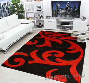 Image Is Loading Modern Glamour Flair Design Hand Carved Rugs Carpets