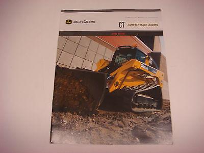 Original John Deere Sales Brochure Compact Track Loaders CT322 CT332 NOS M1280