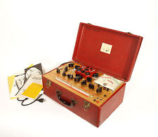 Excellent, Working Hickok 6000-A Tube Tester * Alan Douglas Owned & Calibrated