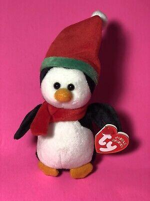 Ty Jingle Beanie Baby SLEDDY the Christmas Snowman