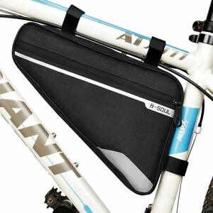 Waterproof MTB Bike Triangle Frame Bag Front Top Tube Cycling Under Seat Pouch