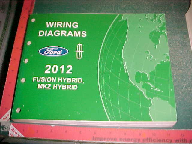 2012 Ford Fusion Hybrid  Lincoln Mkz Wiring Diagrams