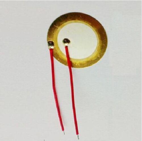 wire copper 50 PCS 27mm Piezo Elements Sounder Sensor Trigger Drum Disc