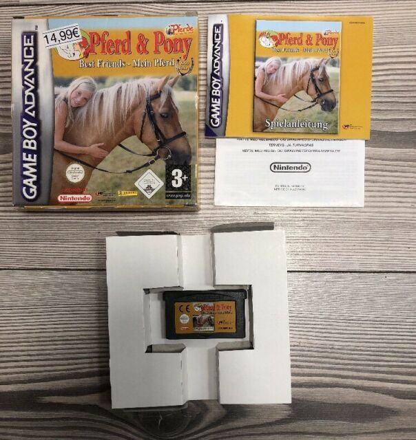 *** Pferd + Pony: Best Friends - Mein Pferd *** GBA GameBoy Advance *** Mit OVP