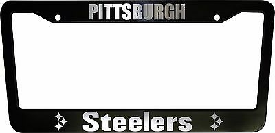 Steelers Plastic Frame Black