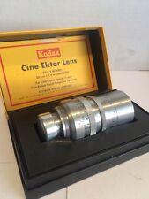 Kodak Cine Ektar 50mm 1.9 S Mount Lens A++++++ Bolex Filmo C Mount