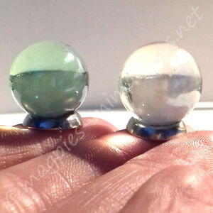 Details about Dolls House 12th scale Crystal Ball x 1piece -Gypsy / Fortune  Teller / Halloween