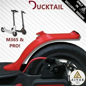 GUARDABARROS-DUCKTAIL-MUDGUARD-EXCLUSIVO-Corto-Sport-Xiaomi-M365-M187-PRO-3D