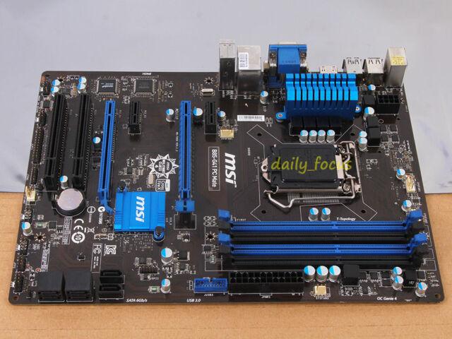 MSI B85-G41 PC Mate Motherboard MS-7850 skt 1150 DDR3 Intel B85 Express