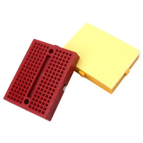 5 Pcs SYB-170 Mini Solderless Breadboard Prototype Board Plates 170 Tie-points—H