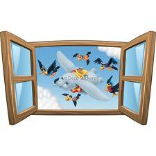 Sticker enfant fenêtre Dumbo réf 1015 39x23cm 1015