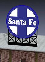 Santa Fe Animated Billboard Sign 44-0552 N Or Ho Scale Miller Engineering