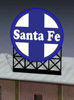 Santa Fe Animated Billboard Sign 44-0552 N Or Ho Scale Miller Engineering