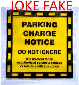 Fake parking fine fixed penalty notice joke prank traffic offence image is loading fake parking fine fixed penalty notice joke prank altavistaventures Images