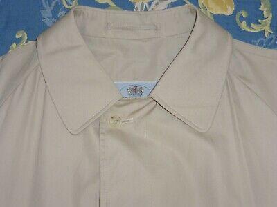 Cerca Voli Aquascutum Inghilterra 100% Cotone Pioggia Cappotto Trench Mackintosh Mac Giacca L/xl Vintage-mostra Il Titolo Originale