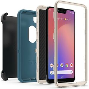 sneakers for cheap 2c4ca 86d99 Details about OtterBox Defender Series Screenless Edition Case for Google  Pixel 3 XL Green