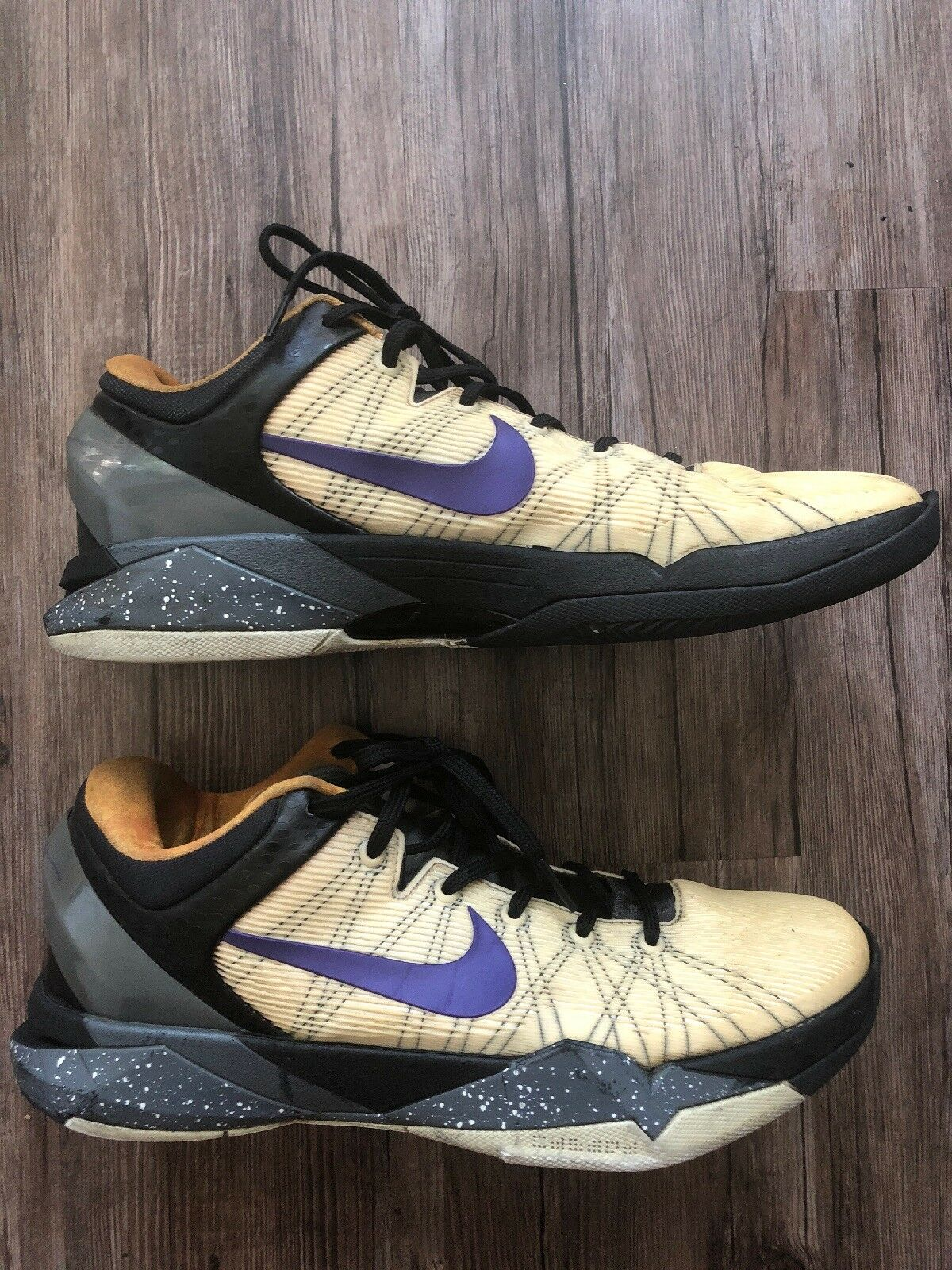 """Nike Zoom Kobe VII 7 System """"Opening Day"""" Lakers 10.5 Purple Gold 488371-103 SZ 10.5 Lakers 9cacee"""