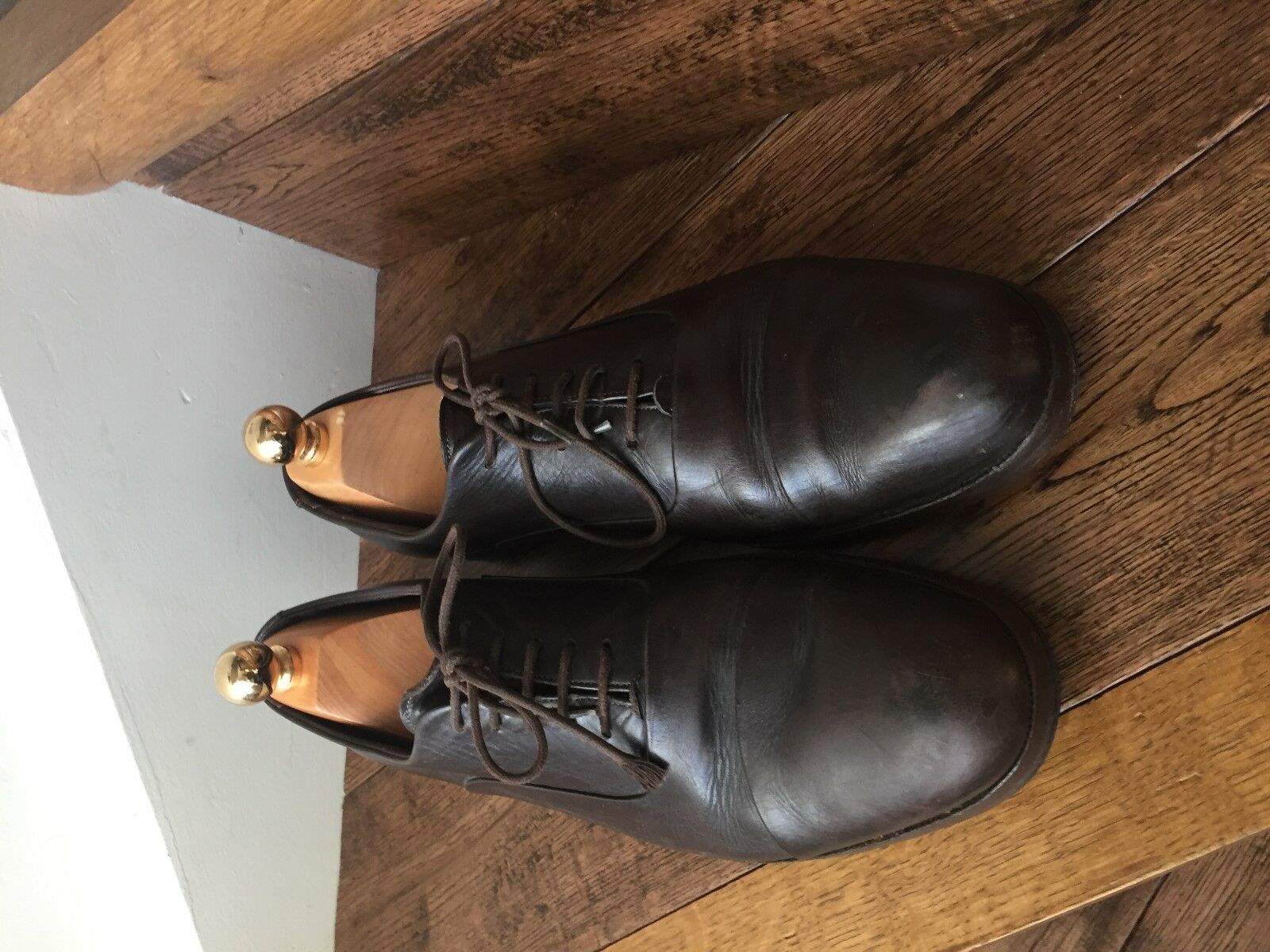 A Lovely Pair of 'Giorgio 'Giorgio 'Giorgio Armani' Mens Leather schuhe. e06969