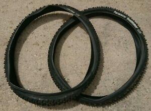 "Pair of Panaracer Trailraker Tyres 26"" x 1.95"" 48-559 MTB tires"