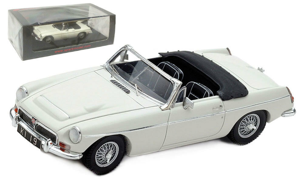 Spark S4143 MG C Congreenible 1967 - 1 43 Scale