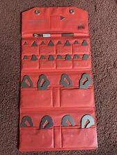Mitutoyo Radius Gage Set No 186 901 Read Description Very Nice