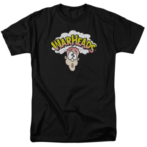 Warheads Candy LOGO Licensed Adult T-Shirt All Sizes