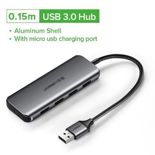 PC MacBook Air Ugreen USB HUB 3.0 External 4 Port USB Splitter for Ultrabooks