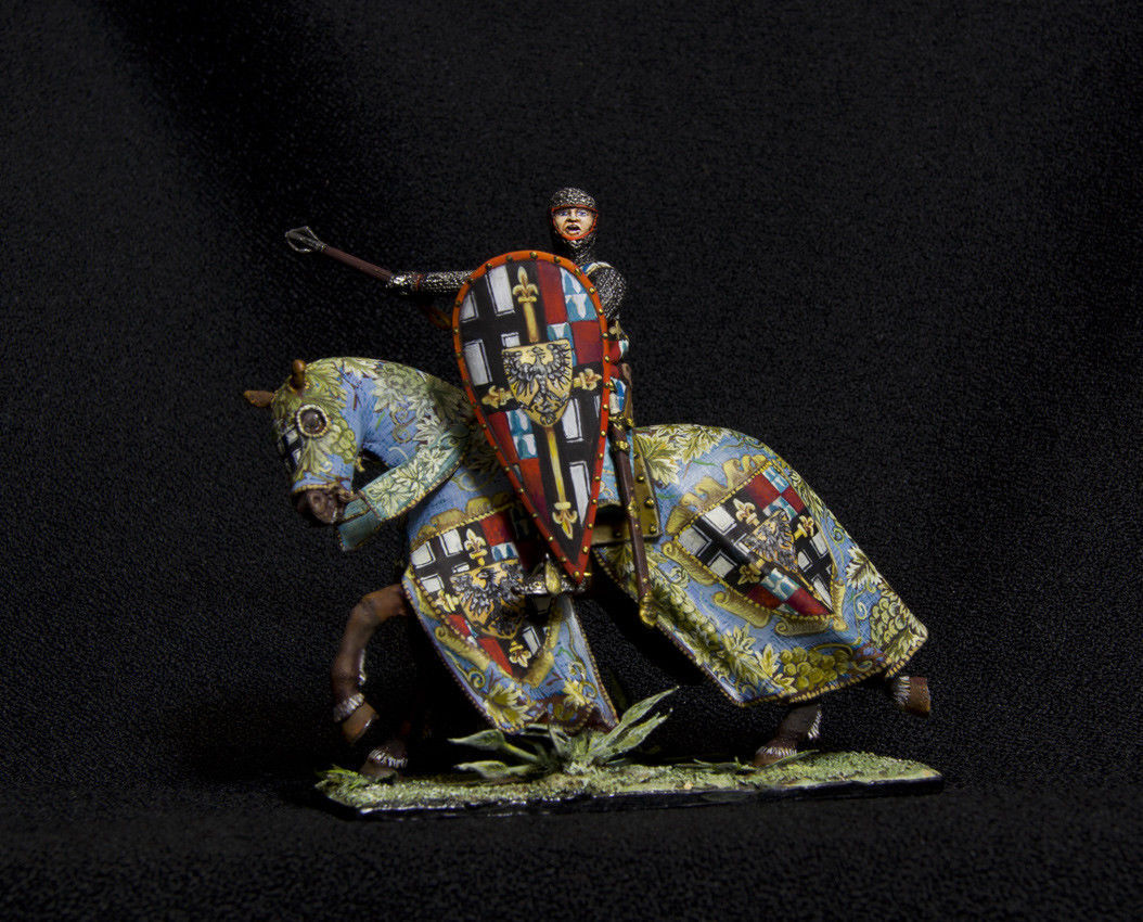 Russian Lead Miniatures.Walter von Cronberg - 1527-1543. 38th Grand Master of th