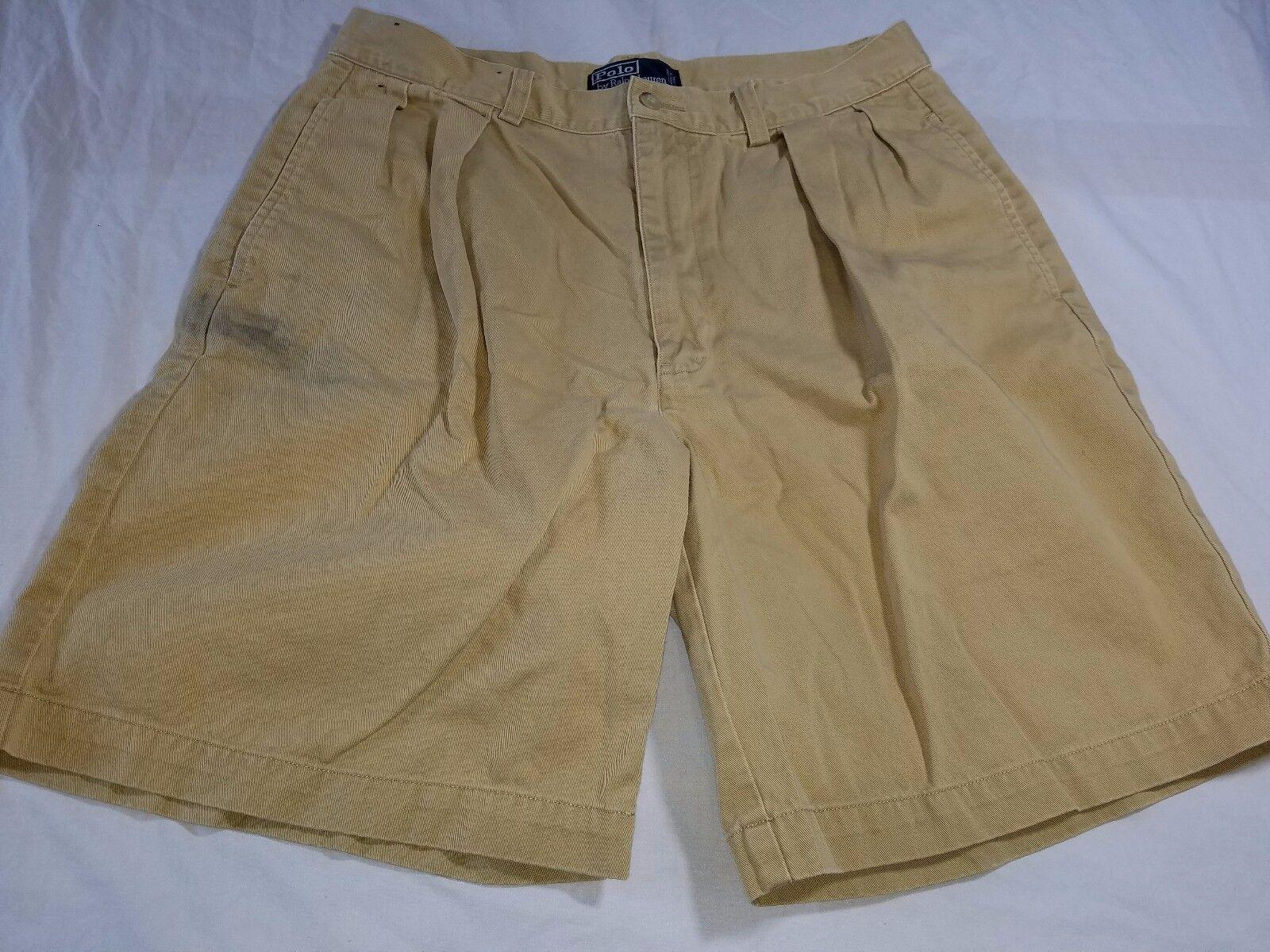 Vintage Polo by Ralph Lauren Casual Tyler Men's Short Size 33